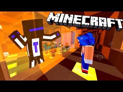 За стеклом - Minecraft Death Run #11 (видео)