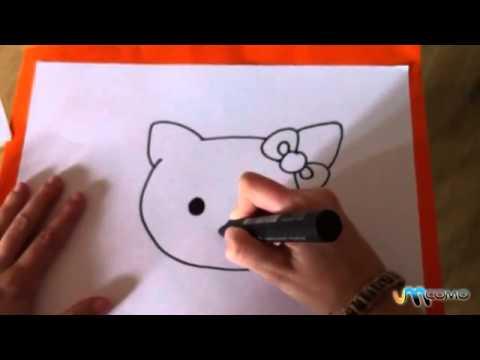 Cara da Hello Kitty