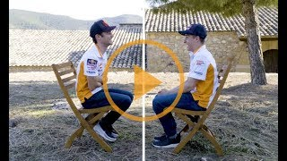 Video Marc Márquez and Dani Pedrosa end the season with laughter MP3, 3GP, MP4, WEBM, AVI, FLV Maret 2019