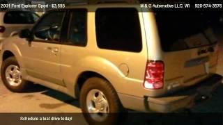 2001 Ford Explorer Sport Base - for sale in Appleton, WI 54913
