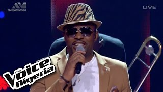 "Cornel sings ""Uptown Funk"" / The Voice Nigeria"