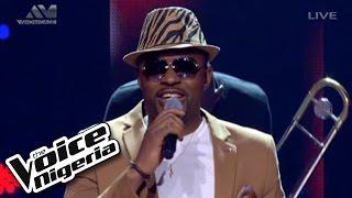 "Cornel sings ""Uptown Funk"" / The Voice Nigeria"