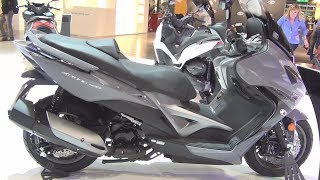 9. Kymco Xciting 400i ABS (2017) Exterior and Interior