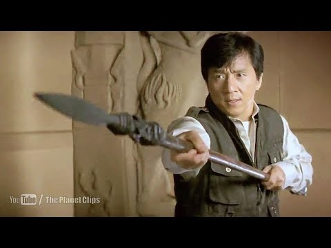 Jackie Chan Fighting With Indian Guard | The Myth (2005) Movie Scene
