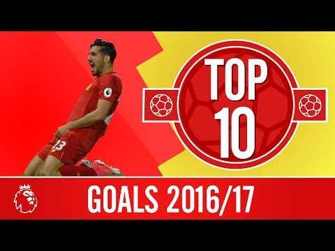 Top 10 Goals of the 2016/17 season | Free-kicks, an overhead and long-range screamers