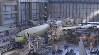 Video how an aeroplane is built - A340  600 MP3, 3GP, MP4, WEBM, AVI, FLV Juni 2018
