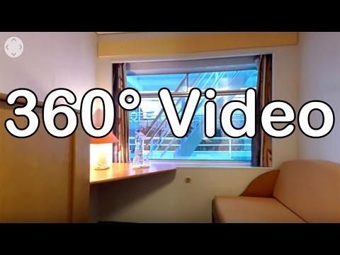 360 Grad Video: Kabine 219, Kat. F - MS Sofia