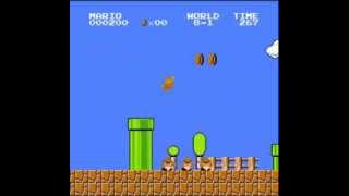Super Mario Bros. - 500 Point Run