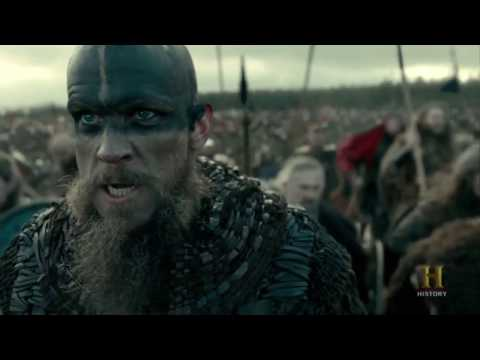 Vikings - The Greath Heathen Army Battle #1 [Season 4B Official Scene] (4x18) [HD]