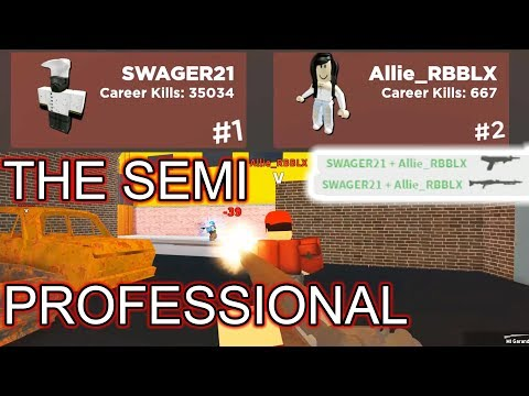 BEING A BODYGUARD IN ARSENAL | ROBLOX