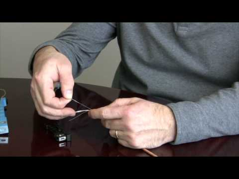 How to Strip a Cable Using the Rip Cord