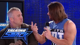 Nonton Aj Styles Insists Shane Mcmahon Send Him To Wrestlemania  Wwe Talking Smack  Feb  28  2017 Film Subtitle Indonesia Streaming Movie Download