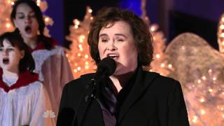 Susan Boyle - Away In A Manger - Rockefeller Plaza - 2010