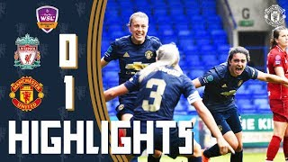 Video HIGHLIGHTS | Manchester United Women 1-0 Liverpool Women | FA WSL Continental Tyres Cup MP3, 3GP, MP4, WEBM, AVI, FLV Agustus 2018