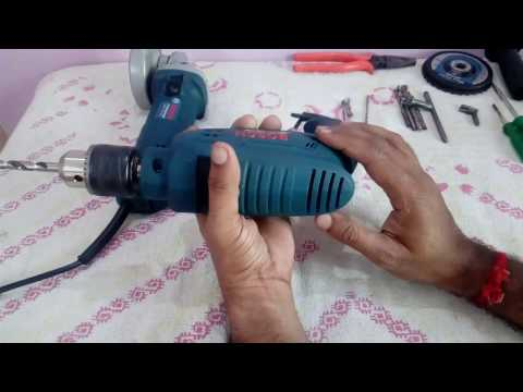 POWER TOOLS FOR BASIC HOME REPAIR WORKS (HAND DRILL) (HINDI)