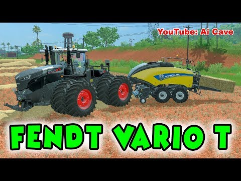 FENDT VARIO T BLACK NEW FRONT v2.0