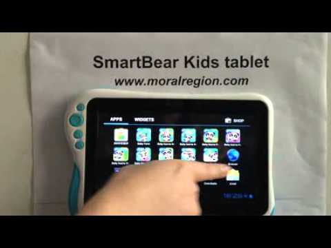 Adult interface  SmartBear Kids tablet