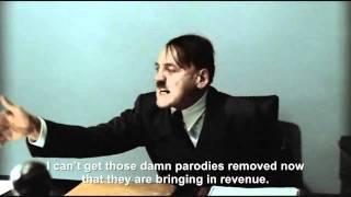 Hitler is informed Downfall parodies are no longer being blocked