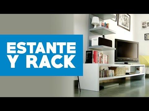 ¿Cómo construir un estante y rack modular?