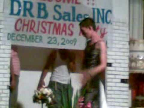 DRB sales christmas party funny dance video showdown a.k.a katrina haliloy