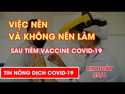 Việc nên và không nên làm sau tiêm vắc xin COVID-19