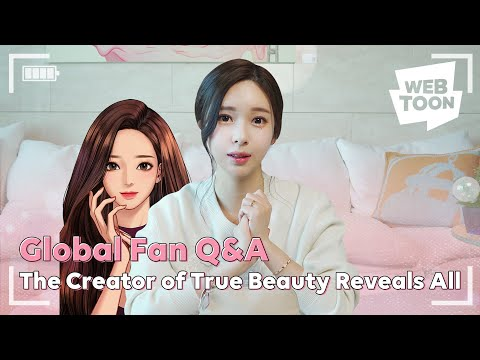The Creator of True Beauty Reveals All   WEBTOON Global Q&A