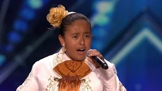 America's Got Talent 2015 S10E03 Alondra Santos 13 Year Old Mariachi Singer - YouTube