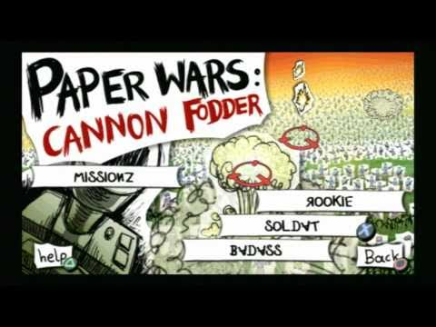 paper wars cannon fodder psp free download