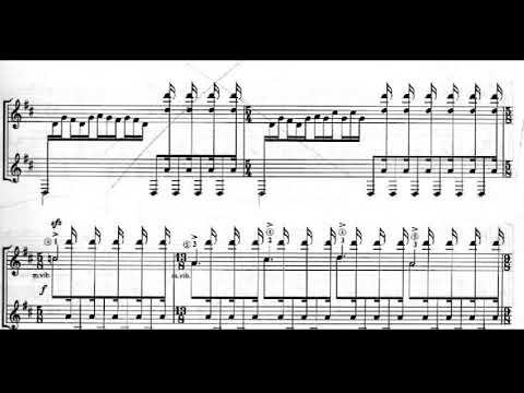 Keigo Fujii – The Legend of Hagoromo for Guitar (Score video)