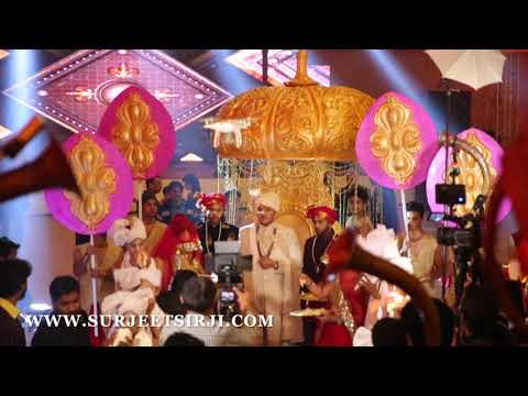 Video PADMAVATI GROOM ENTRY DESIGN BY SURJEET SIR JI AT  RIVIERA GURGAON download in MP3, 3GP, MP4, WEBM, AVI, FLV January 2017