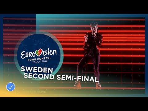 Benjamin Ingrosso - Dance You Off - Sweden - LIVE - Second Semi-Final - Eurovision 2018 (видео)