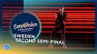 Video Benjamin Ingrosso - Dance You Off - Sweden - LIVE - Second Semi-Final - Eurovision 2018 MP3, 3GP, MP4, WEBM, AVI, FLV Agustus 2018