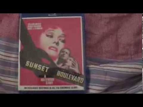 Sunset Boulevard DVD And Bluray Uboxing