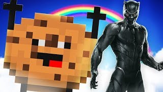 *BLACK PANTHER* IN COOKIE CAMP W/ TEWTIY! | MINECRAFT MODDED MINIGAME!