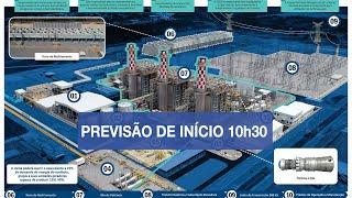 Acompanhe a solenidade de inauguração da termelétrica em SE