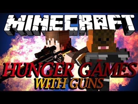 Minecraft GUNS IN HUNGER GAMES w/ BajanCanadian