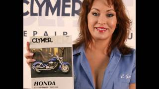 8. Clymer Manuals Honda VTX1800 VTX Service Repair Maintenance Shop Motorcycle Manual Video
