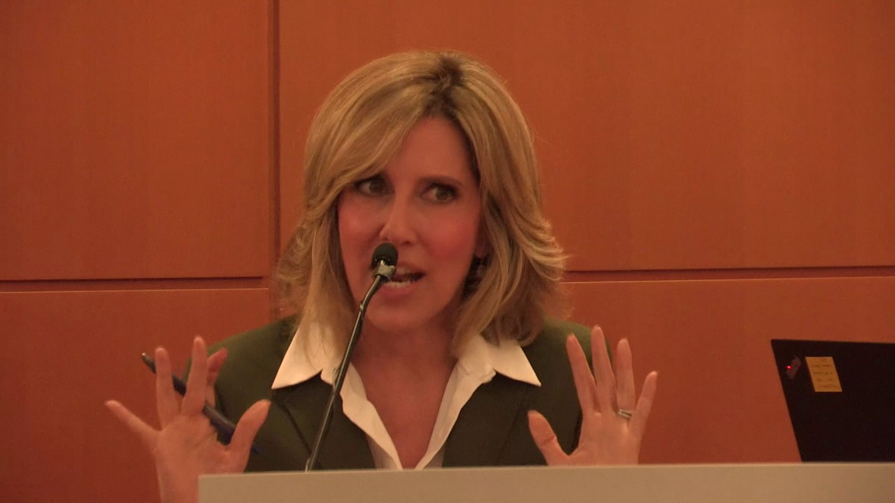 Alisyn Camerota, author of AMANDA WAKES UP, at the PRH Open Book Event, May 2017