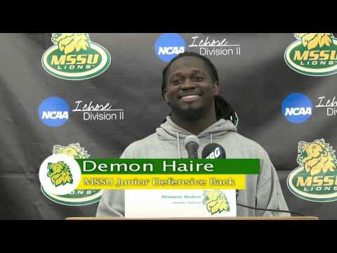 Demon Haire Press Conference Week 5