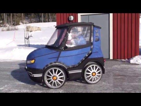 這台小車看起來就像是全世界最小的車子,但是打開門一看時大家都狂讚設計師的想法一定要獲得推廣!
