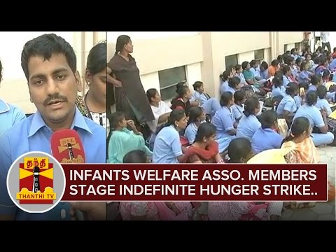 Infants-Welfare-Association-Members-stage-Indefinite-Hunger-Strike-at-Chennai-24-02-2016