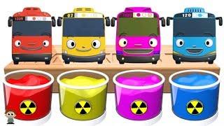 Dye Coloring | Tayo The Little Bus, Tayo Lani, Tayo Rogi, Tayo Gani | Shower Colors for Kids