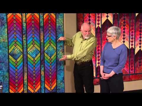 The Quilt Show: Trailer 1607 - Jane Hardy Miller / Peg Pennell