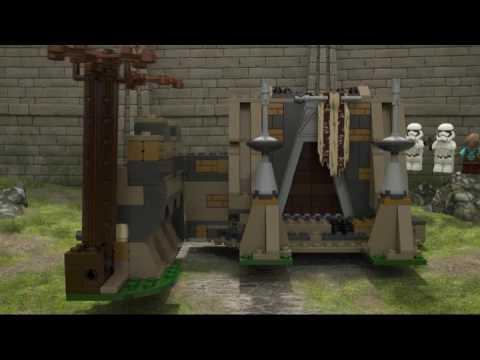 Конструктор Сражение на планете Такодана - LEGO STAR WARS - фото № 11