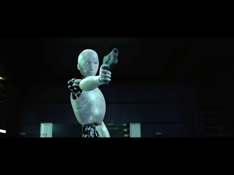 I,Robot |2004| Final Battle Scene