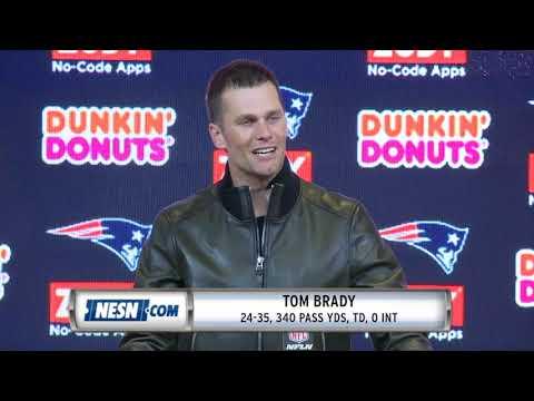 Video: Tom Brady Patriots vs Chiefs Week 6 Postgame Press Conference