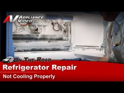 Maytag Refrigerator Repair – Not cooling – MFF2558WFB3