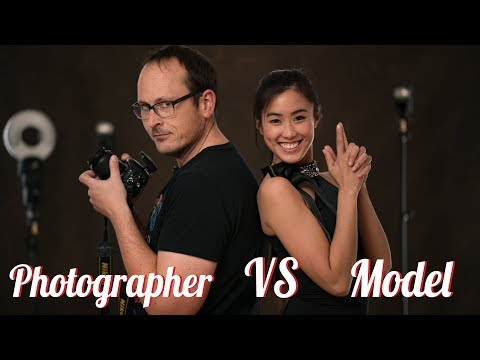 Model vs Photographer - (Roles Reversed)