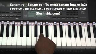 Video Sanam Re Piano Tutorials - Title Song download in MP3, 3GP, MP4, WEBM, AVI, FLV January 2017