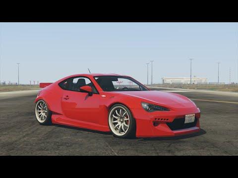 GTA 5 - Airport Gymkhana Drift Montage (Rocket Bunny GT86)